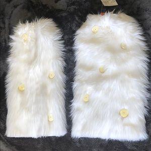 J. Valentine Snow White Leg warmers with lights